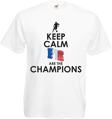 Camisetas Hombre Los franceses Son los campeones: Campeonato de ...
