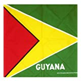 Guyana Flag Bandana - Bandana With National Flag Of Guyana Pattern