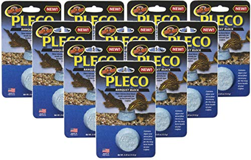 Zoo Med Laboratories 10 Pack of Pleco Banquet Blocks ()