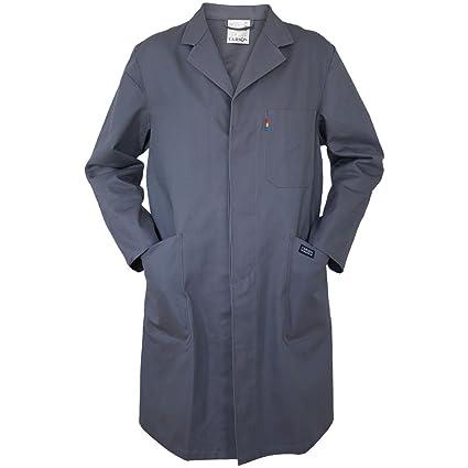 Bata de trabajo Carson Classic Workwear, Gris, KTH741.GR: Amazon.es ...