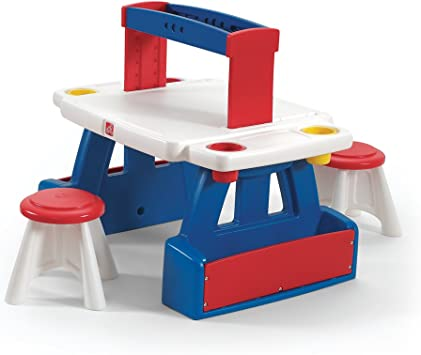 Step 2 Creative Projects Table Amazon Co Uk Toys Games