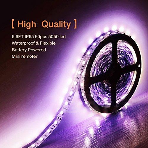 led light strips battery powered - 5