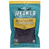 Werner Gourmet Meat Snacks, All Natural Old Fashion Beef Jerky - 9 oz.