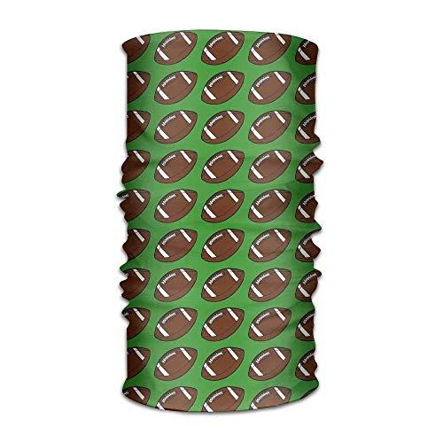 sretinez Unisex Kerchief Football Pattern Multifunctional Bandanas Sweatband Elastic Turban Headwear Headscarf