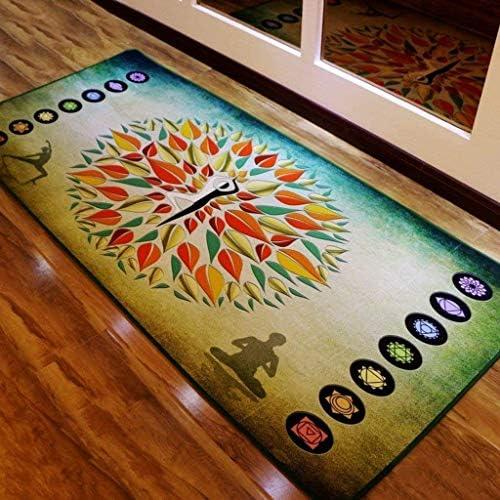 Household Carpet-Carpet-Widen Rectangle Non-Slip Yoga Mat Printing 8Mm Taste Non-Slip Beginner Exercise and Fitness Pad -Non Slip Anti Mould Luxury Rug