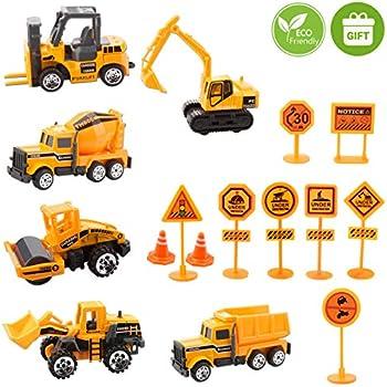 Amazon Com Zohumi Construction Toys Sets 5 Pieces Mini