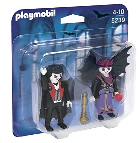 Playmobil Halloween Quick.Playmobil Duo Pack Vampires Playset