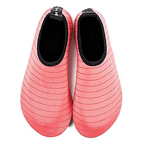 amp; Schwimmschuhe nbsp; Aqua Red Surf Shoes Shoes 28 Wetsuit slip Aquaboots Non Beach Children Water Women's size Watermelon Shoe Boots 29 Slippers Men's Barfus skgardeniamy TxBSwndqT