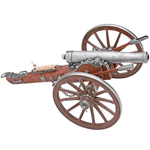 COLLECTOR'S ARMOURY LTD Mini Civil War 12 Pounder Cannon Replica w/7.5