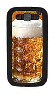 Samsung Galaxy S3 I9300 Cases & Covers - A Cold Beer TPU Custom Soft Case Cover Protector for Samsung Galaxy S3 I9300 - Black