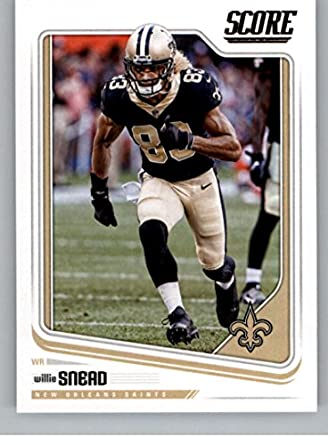Amazon.com  2018 Score  219 Willie Snead New Orleans Saints Football ... 34fbae3dd