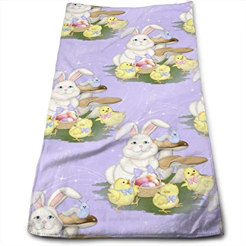 Purist Nickel Towel (Rabbit Easter Friends Purple Multi-Purpose Microfiber Towel Ultra Compact Super Absorbent and Fast Drying Sports Towel Travel Towel Beach Towel Perfect for Camping, Gym, Swimming.)