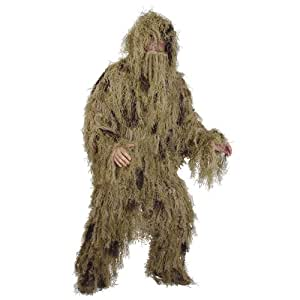Adult Sniper Ghillie Suit Desert Camo L/XXL 02-7738 (Hunting, Airsoft, Halloween,Gillie)