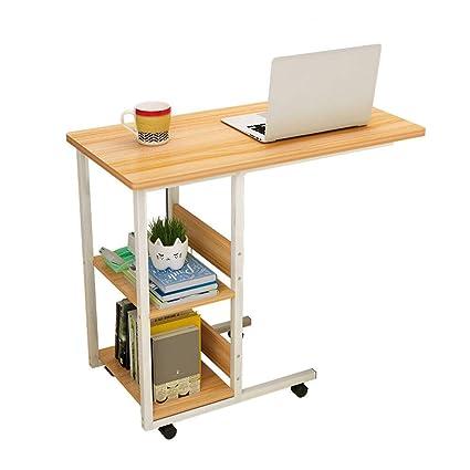 Amazon Com Neyiuia Computer Desks Small Spaces Movable Bedside Desk
