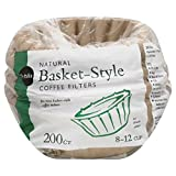 paper coffee filter basket - 200 Count Publix Natural Basket-Style Coffee Filters