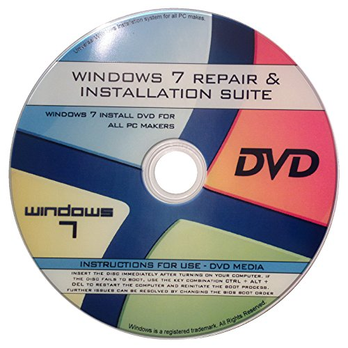 Recovery, Reinstallation, & Repair of All Windows 7 OS