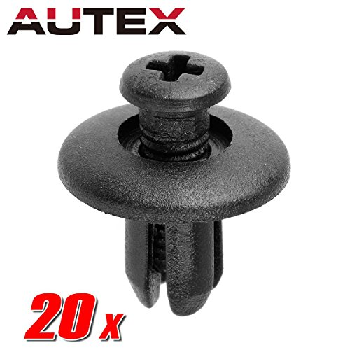 2002 Nissan Titan Part - PartsSquare 20pcs Fender Liner Fastener Rivet Push Clips Retainer Replacement For Nissan Titan 03-13 Frontier 01553-0038U 0G032-50037-A 02-16