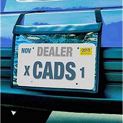 Donkey Auto Products Premium Fastening Tag Bag - Demo License Plate Holder - Professional Quality: Automotive