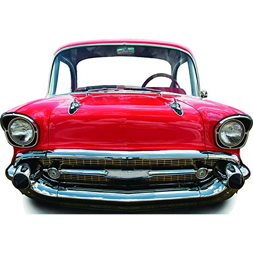 Star Cutouts SC87 Red Car Small Stand-In Cardboard Cutout Standup