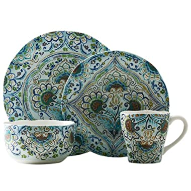 222 Fifth Aisha 16-Piece Dinnerware Set