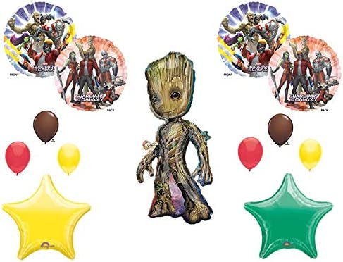 Amazon GROOT GUARDIANS OF THE GALAXY BIRTHDAY PARTY Balloons Decorations Supplies Toys Games