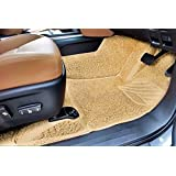 Autofurnish 7D Curly Custom Fitted Car Mats for Ford Endeavour 2017 - Beige