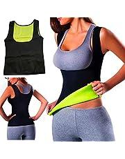 Warm Thermo Dank Top Sweat Yoga Vest Sweat Neopreen Body Shaper Afslanken Taille Shaper Trainer Top Vest Cincher