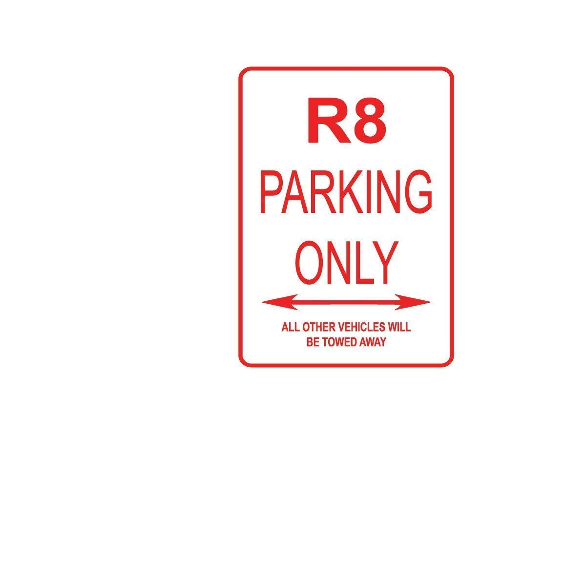 Tomlinsony New Metal Tin Sign Aluminum Piaggio Parking ONLY Street Sign 12 X 8