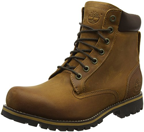 Timberland Men's Earthkeepers Rugged Boot, Red Brown, 8.5 M US