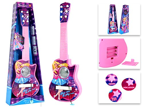 Rock Girls Royals Plastic Toy Guitar by Star