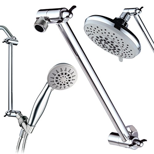 Marvelous Hotel Spa Solid Brass Height/Angle Adjustable Extension Arm For Perfect  Height, Angle And Easy Reach Of Any Showerhead