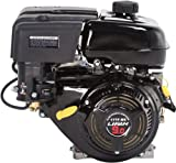 Lifan LF177F-BRQ 9 HP 270cc 4-Stroke OHV Industrial Grade Gas Engine with 2:1 Centrifugal Wet Clutch Reduction, Recoil Start, and Universal Mounting Pattern