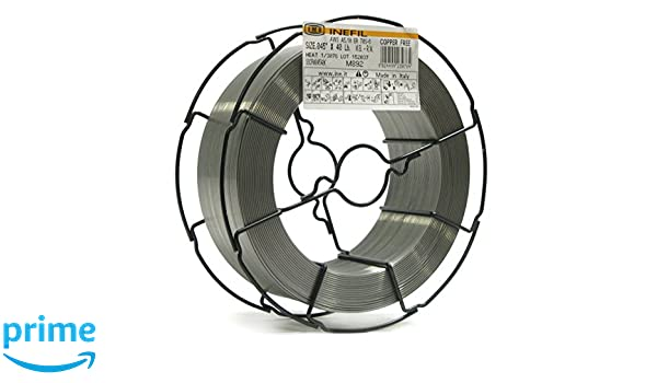 INEFIL COPPER FREE ER70S-6 .045-Inch on 40-Pound Random Wound - on Wire Basket - Carbon Steel Mig Solid Welding Wire - - Amazon.com