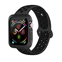 Deals on BRG Compatible with Apple Watch Band 38mm 42mm with Case