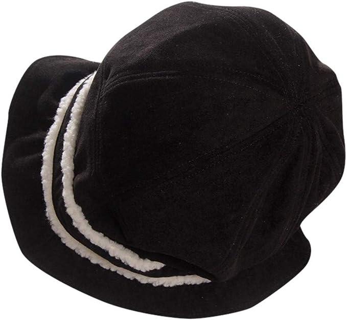 LENXH Womens Fisherman Hat Autumn and Winter Knit Cap ...
