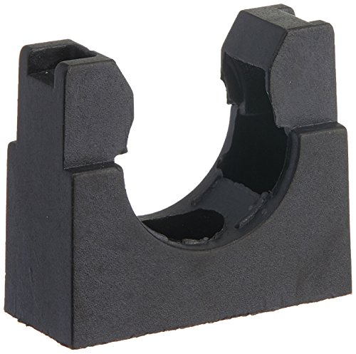 UXcell Black Plastic Mounting Bracket for 22mm Corrugated...