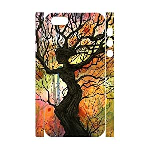 3D IPhone 5,5S Cases the Tree of Life?, IPhone 5,5S Cases the Tree of Life, [White]