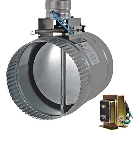 "ZC206 6"" normally closed adjustable damper - Diameter Motorized Damper"