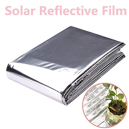 Yamalans Foldable Plant PETP Reflective Film Garden Greenhouse Cover Accessories Silver 210cm x 120cm by Yamalans (Image #3)