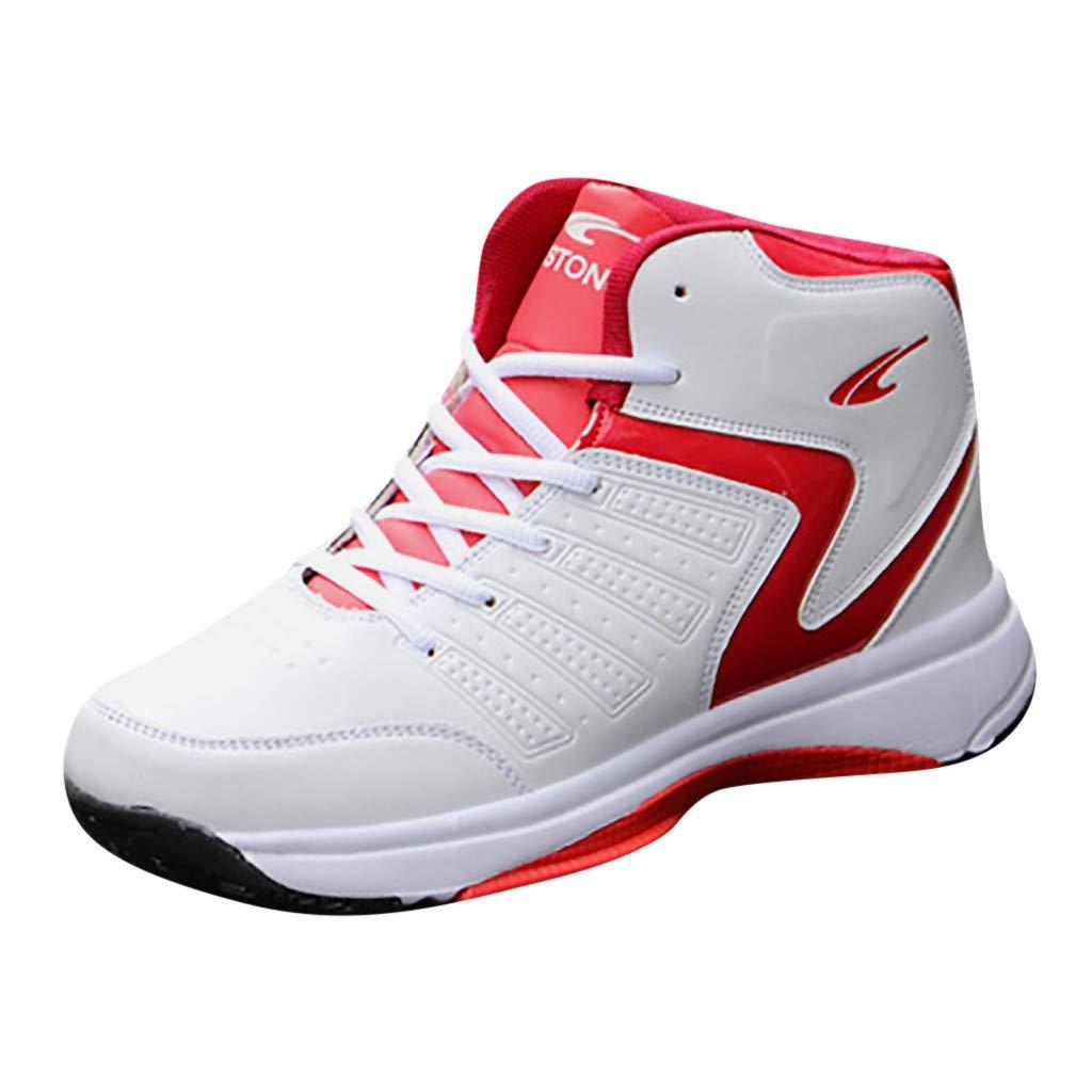 Chaussures De Basket Haute Respirant Antid/érapant Confortable Pas Cher A La Mode Chaussures /à Lacets Sneakers Chaussures De Course Absorbant Les Chocs