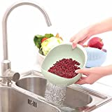 EVANA Fruits Vegetable Noodles Pasta Washing Bowl & Strainer Good Quality & Perfect Size for Storing and Straining (APPLE BASKET BOWL-F)