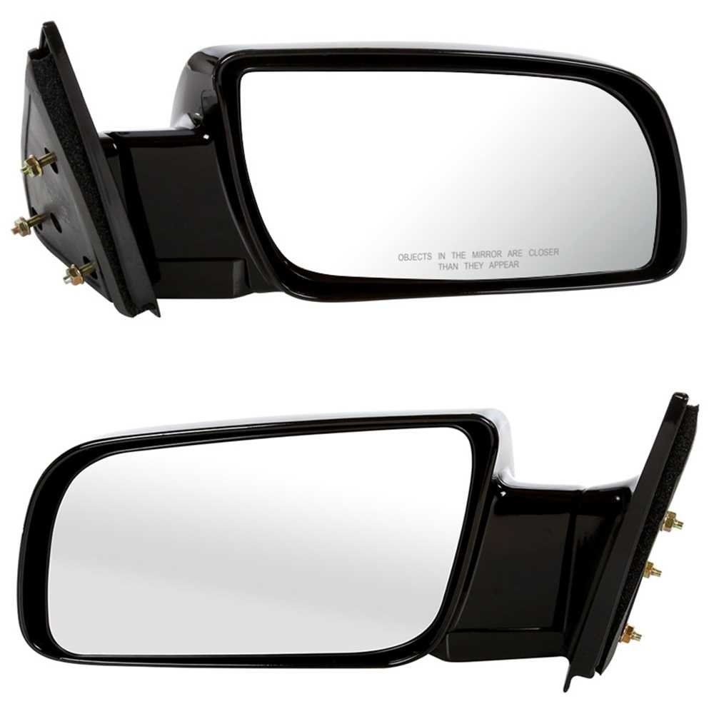 Prime Choice Auto Parts KAPGM1320140PR Side Mirror Pair Black Manual Left and Right
