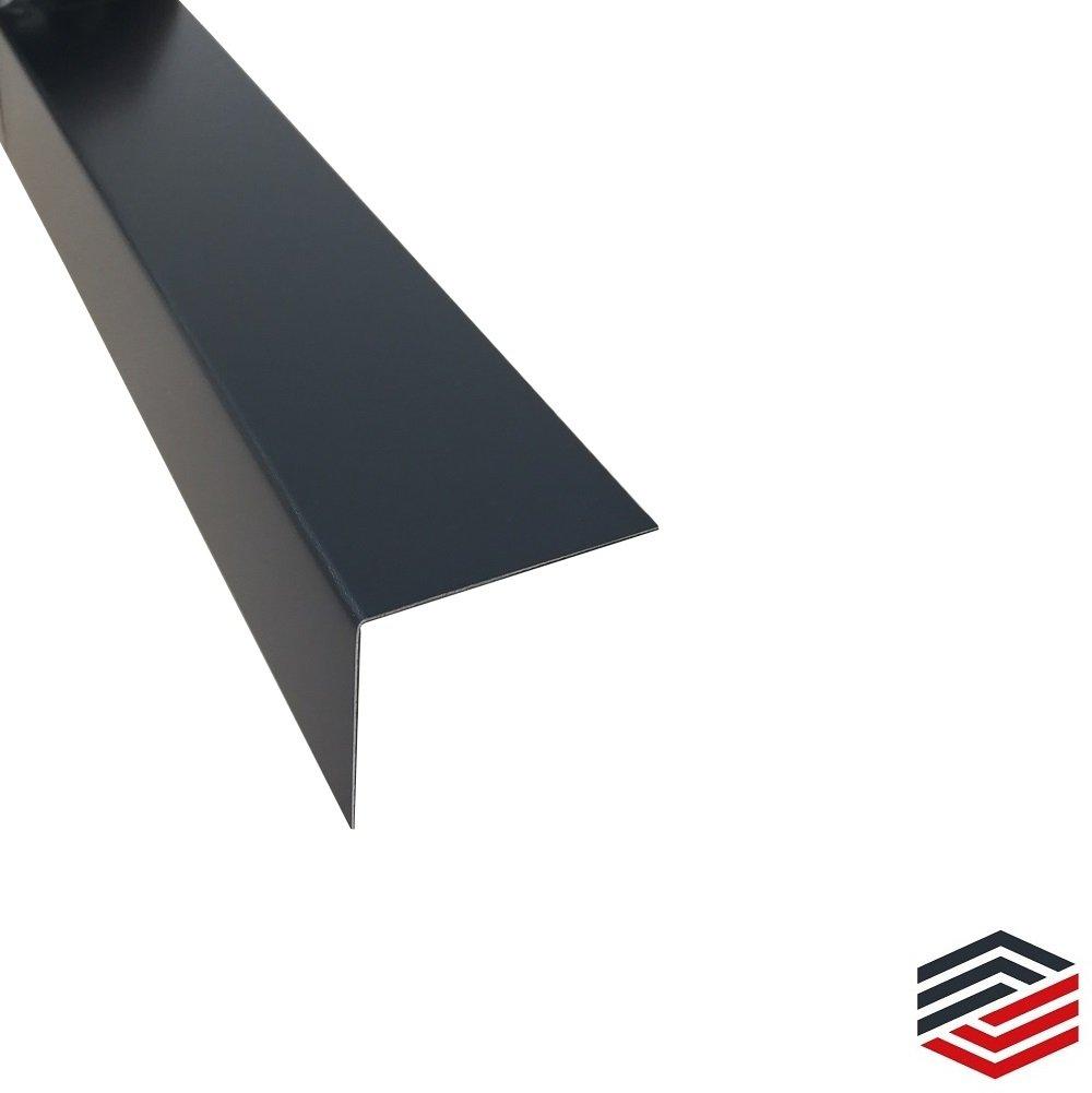 50 x 50 x 0,8 mm Alu Winkel Anthrazit Kantenschutz 2 Meter
