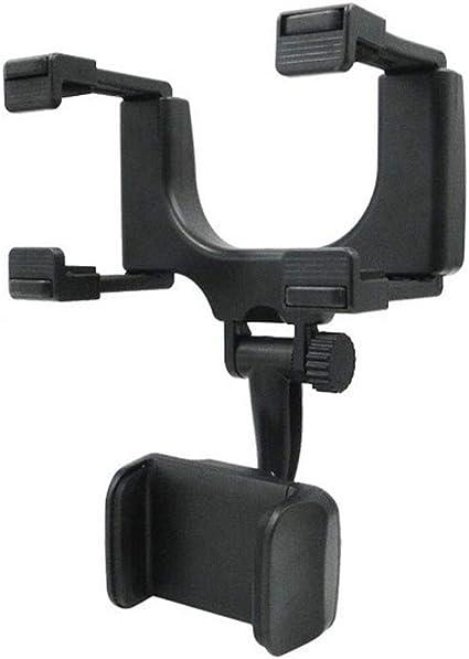 Lynn Auto Rückspiegel Telefonhalter Fahrzeug Rückspiegel Telefonhalter Halterung Universal Smartphone Cradle Küche Haushalt
