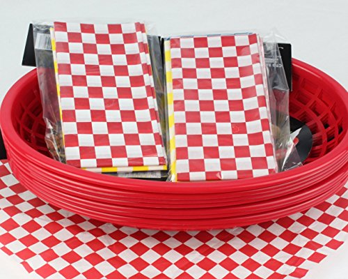 yellow bbq basket liners - 1