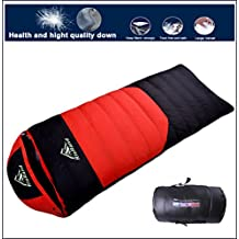 Sleeping Bag Lightweight Down Content 1kg Lowest -8°C for Backpacking Camping