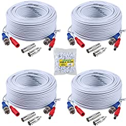 ANNKE (4) 30M/ 100ft All-in-One BNC Vide...