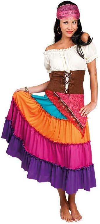 DISBACANAL Disfraz zíngara Esmeralda para Mujer - -, M: Amazon.es ...