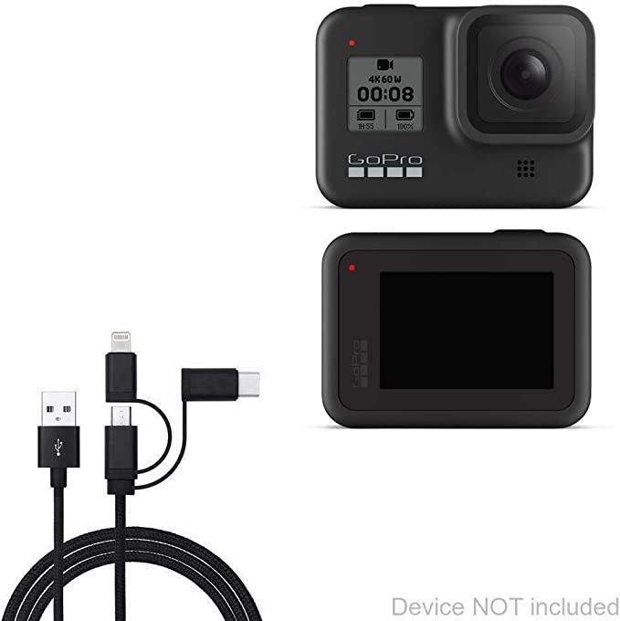 CHDHN-302 CHBDC-302 Camera yan USB Charger Data SYNC Cable Cord for GO Pro Hero 3