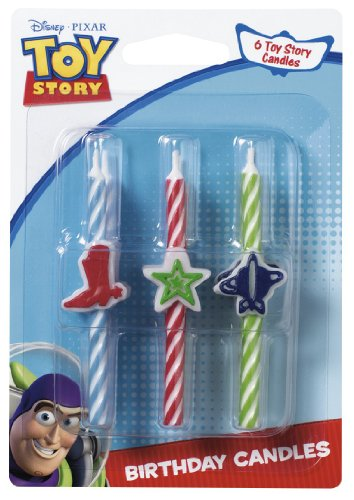 Toy Story 3 Icon Birthday Candles]()